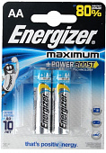 "Батарейка ""Energizer"" LR06/E91 AA FSB2 Maximum"