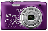 "Фотоаппарат ""Nikon"" Coolpix A100 Purple Lineart"