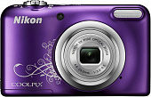 "Фотоаппарат ""Nikon"" Coolpix A10 Purple Lineart"